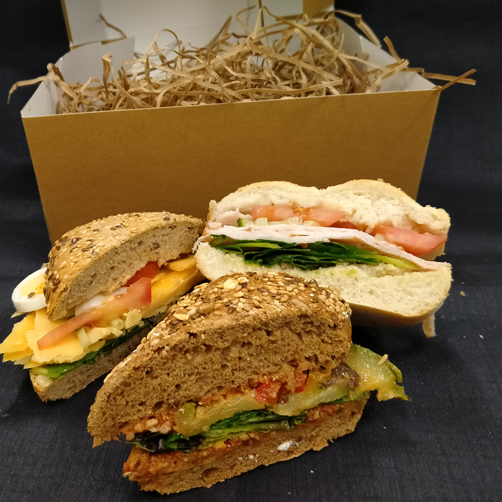 Lunchbox half broodjes